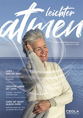 Magazin für Atemwegspatienten – Schwerpunkt COPD